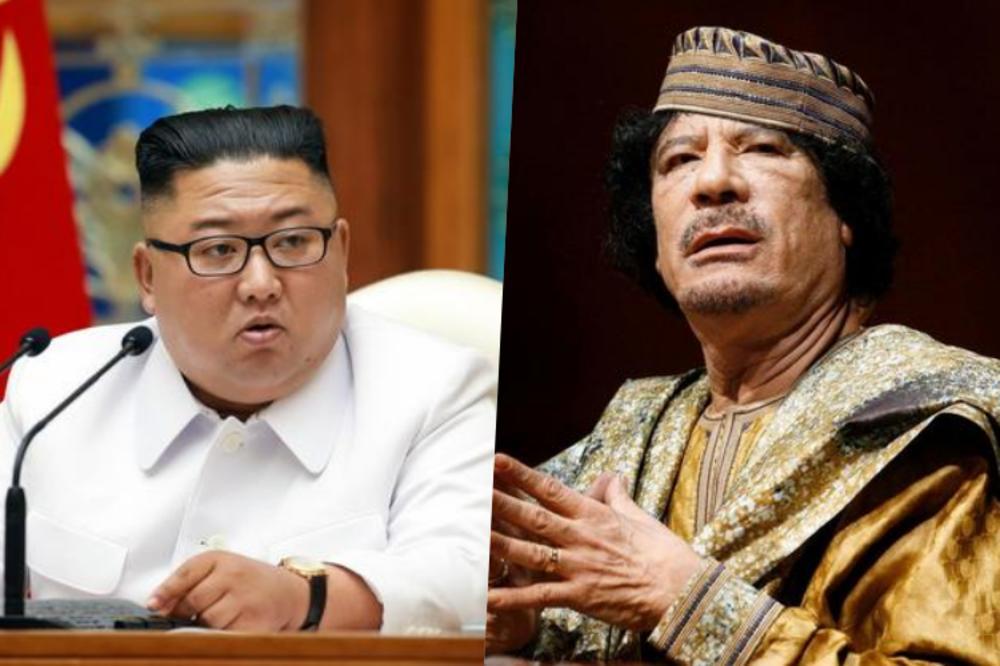 (Видео) Ким се плаши дека ќе ја доживее судбината на Гадафи, нуклеарките му се единствениот спас