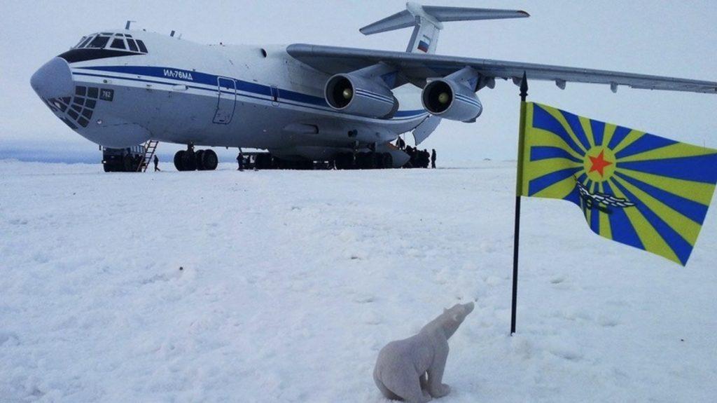 Русите ќе градат на Арктикот аеродроми од мраз