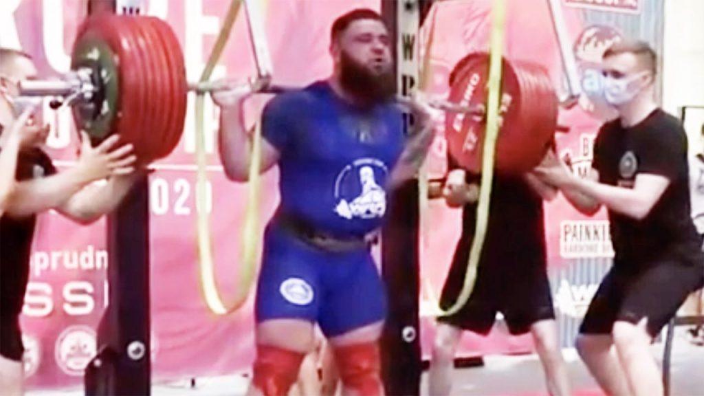 Стравична сцена–тргна да крева 400 килограми, па ги скрши двете колена!