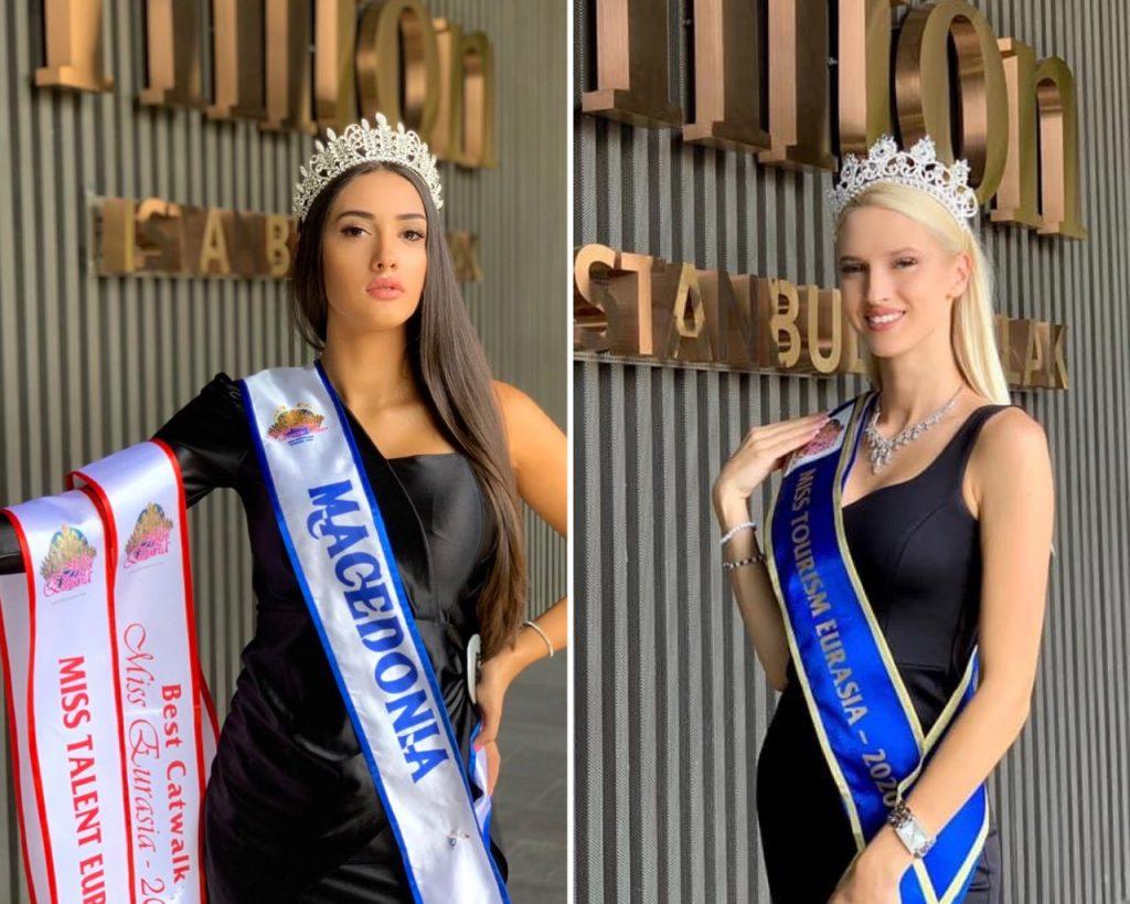 Две Македонки со три титули меѓу најубавите жени во Евроазија