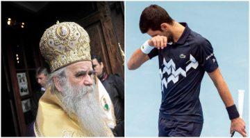 Ѓоковиќ загубил од тага за митрополитот Амфилохие?