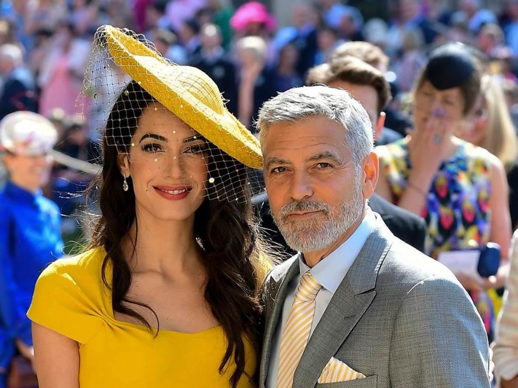 Џорџ Клуни дошол на венчавката иако не ја познавал Меган