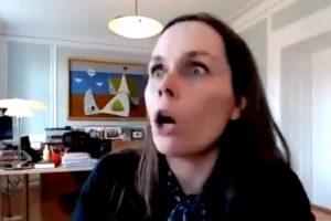 (Видео) Земјотрес ја изненади премиерката на Исланд додека зборуваше во живо