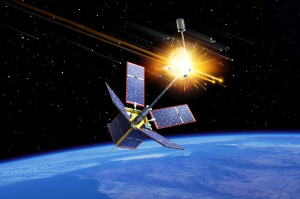 (Видео) Орбитата во вселената нема да биде сигурна, ако дојде до судар на кинеската ракета и рускиот сателит