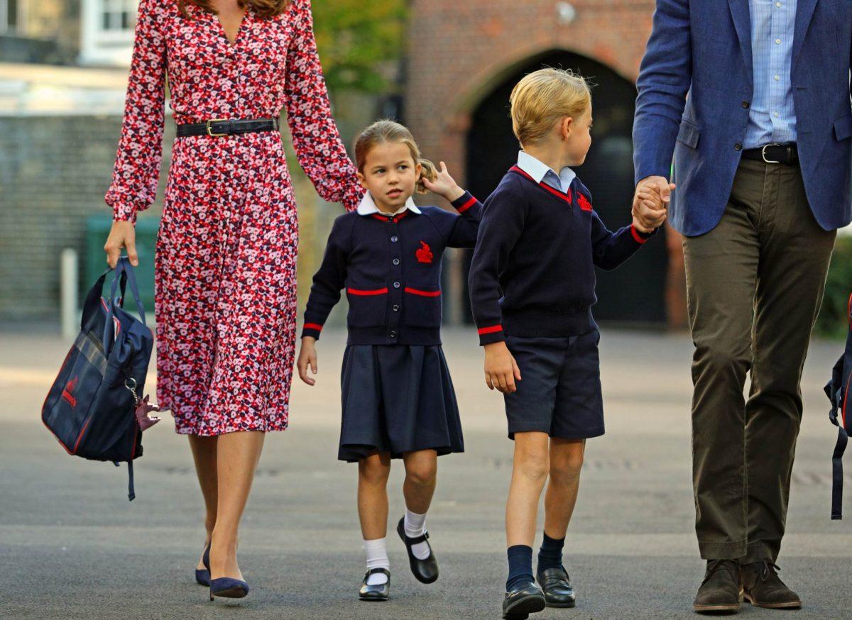 Вилијам и Кејт, се единствените родители кои ги кршат правилата во школото каде учат Џорџ и Шарлот