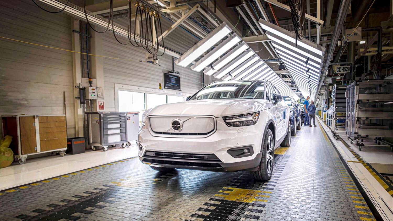 Започна производството на првото електрично Volvo