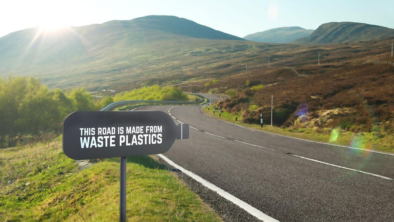 За почиста околина: Пластичниот отпад се меша и во асфалт и патишта!