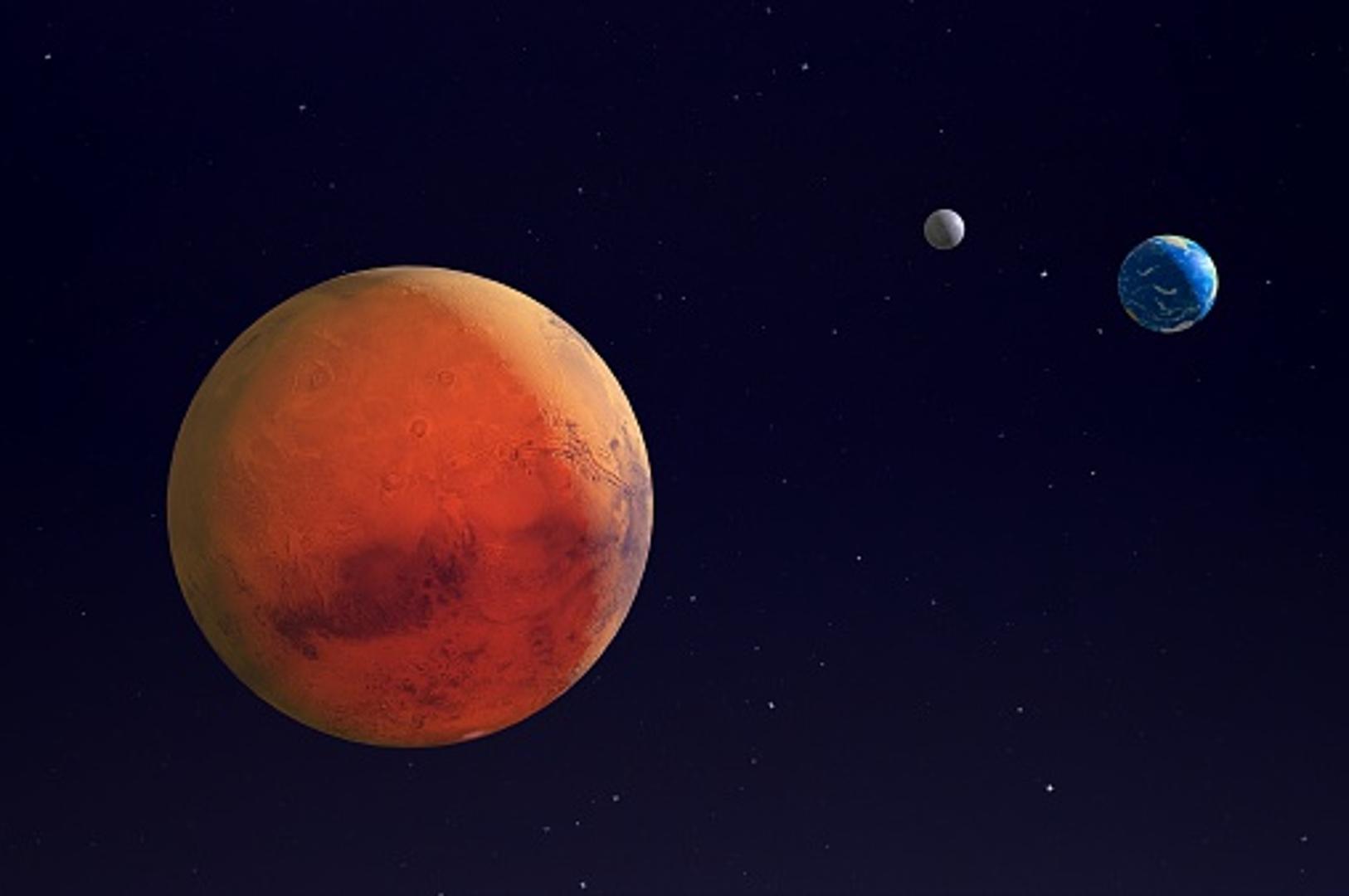 Марс следната недела ќе биде најблиску до Земјата во последните 15 години (ВИДЕО)