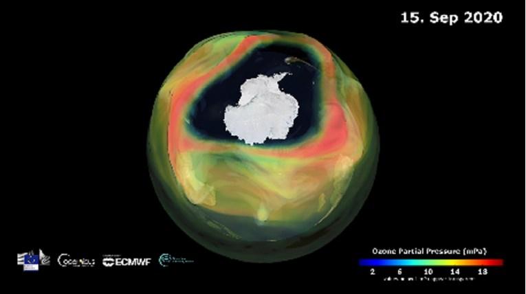 Озонската дупка над Антарктикот најголема во последните 15 години (ВИДЕО)