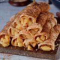Палачинки со јаболка, мед и цимет