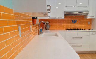 Портокалови детали за свежина во кујната