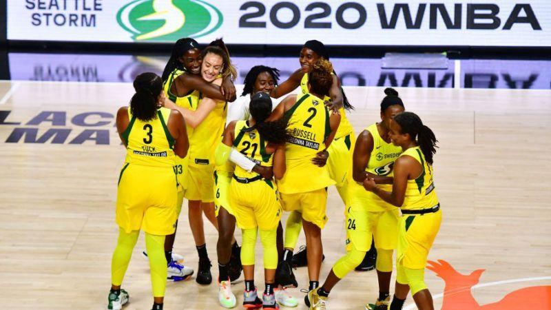 Сител Сторм ја освоија женската НБА