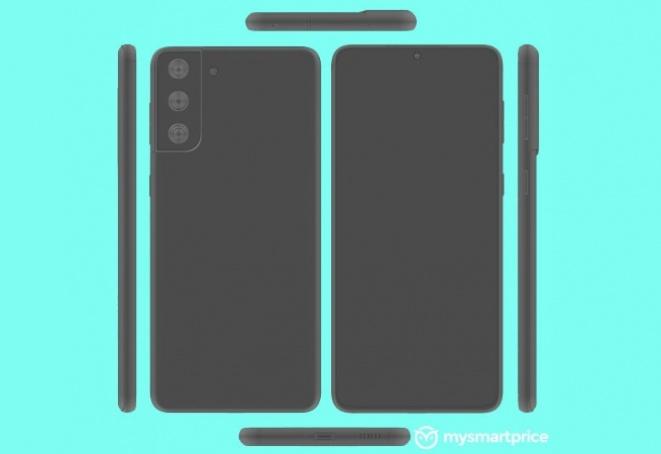 Скици од Galaxy S21+ покажуваат рамен екран и исти камери како кај S21