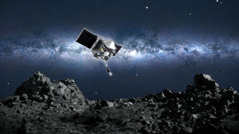Сондата на НАСА зема примерок од астероидот Бену (ВИДЕО)