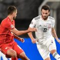 Со пенал во последните минути Македонија освои бод против Грузија