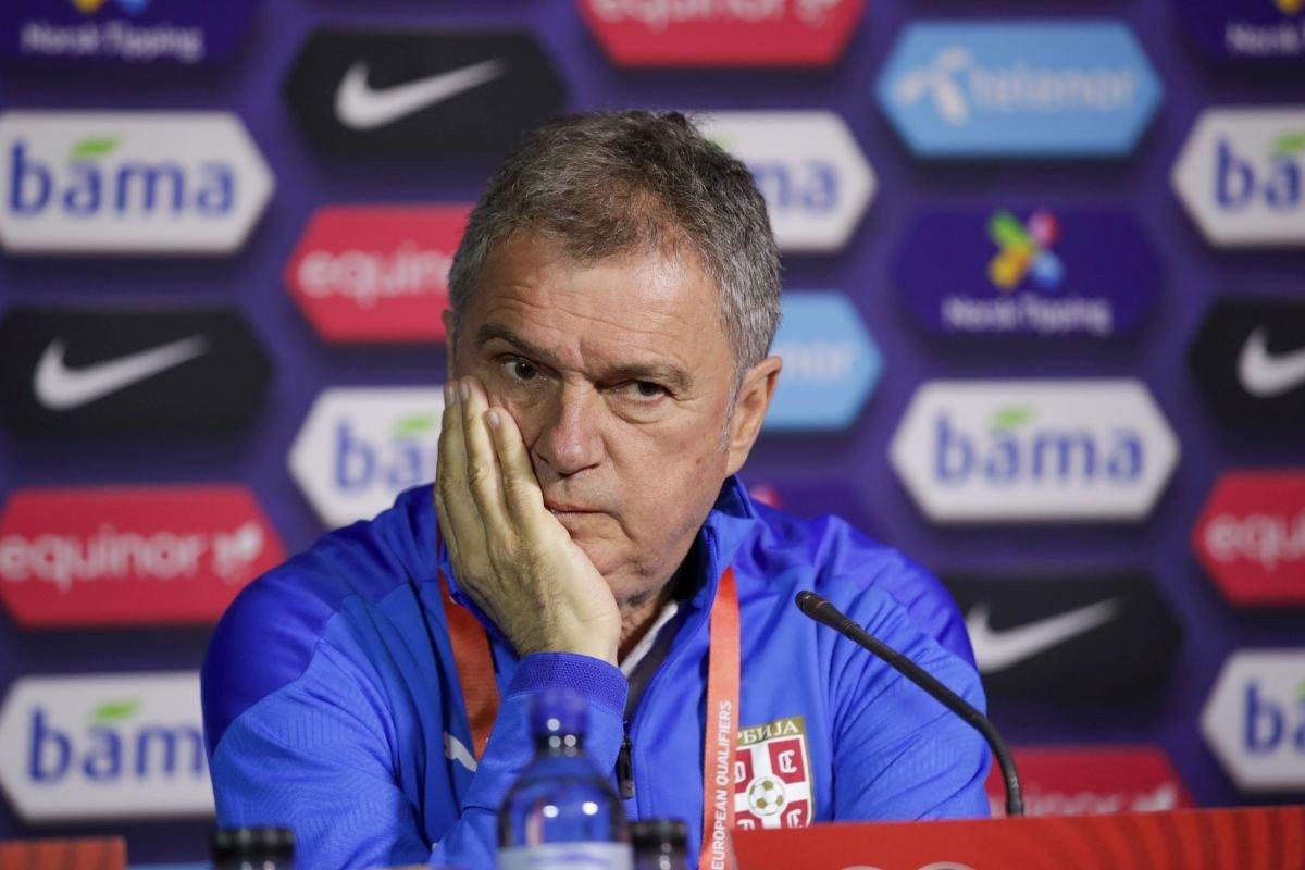 Српскиот селектор Тумбаковиќ: Бог ќе ни помогне против Халанд