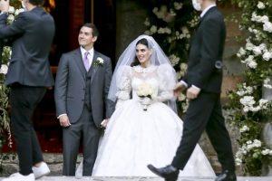 (Фото) Се ожени синот на Силвио Берлускони