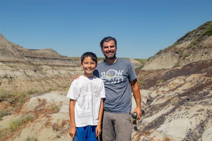 (Фото) 12-годишно дете откри коски од диносаурус стари 69 милиони години