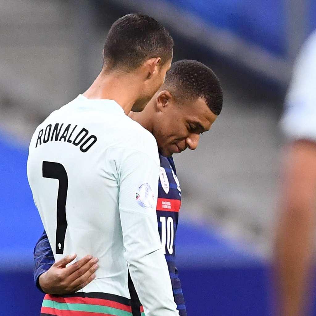"""Франција и Португалија без """"муниција"""" на """"Стад де Франс"""", Роналдо и Мбапе се """"дружеа"""""""