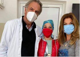 """""""Денес е трета хемотерапија за Андријана""""-Јулија за ќерката и нејзината борба со ракот"""