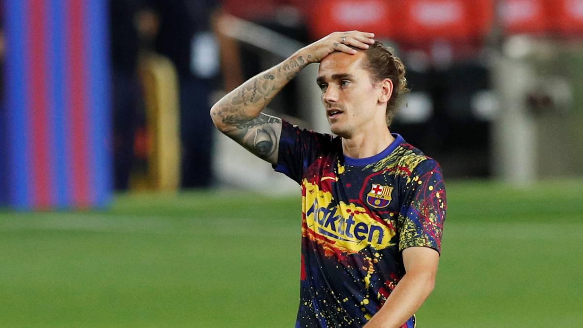 Дешам: Гризман не е среќен во Барселона