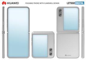 Huawei работи на флексибилен телефон со преклопен екран