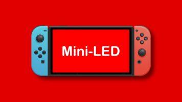 Nintendo Switch Pro може да користи Mini-LED дисплеј