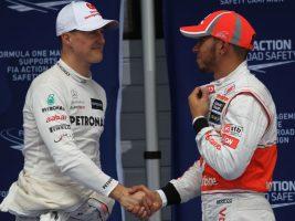 Барикело: Хамилтон е подобар од Шумахер