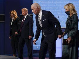 Бајден ќе го исфрли Доналд Трамп од Белата куќа, ако самиот не си замине
