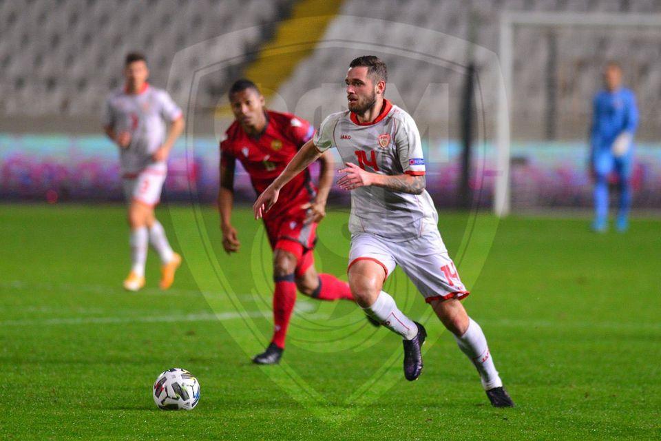 (Видео) Македонија изгуби од Ерменија, останува во Лигата Ц