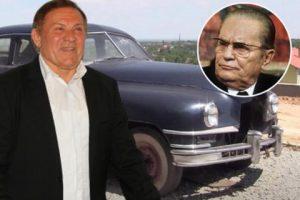 (Видео) Милош Бојаниќ ја купи омилената кола на Тито од 1948 година и сам ја реставрираше