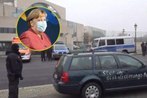 (Во живо) Напад врз Ангела Меркел во Берлин