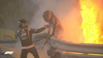 Грожан се јави од болницата: Заштитниот ореол е најдобрата работа што ја воведе Ф1