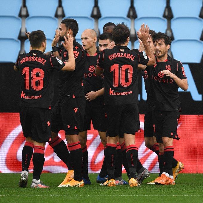 Деби гол на Давид Силва, Сосиедад на првото место во Ла лига