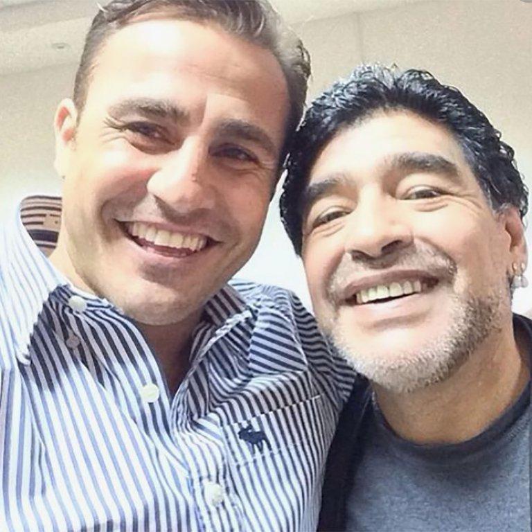 Канаваро: Марадона беше постер на фудбалот, секогаш со крената глава