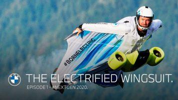 Летечки костум: со Wingsuit на BMW може да се лета со брзина од 300 км/ч! (ВИДЕО)