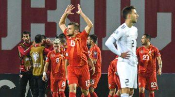 Македонија се пласираше на Европско првенство 2021 година