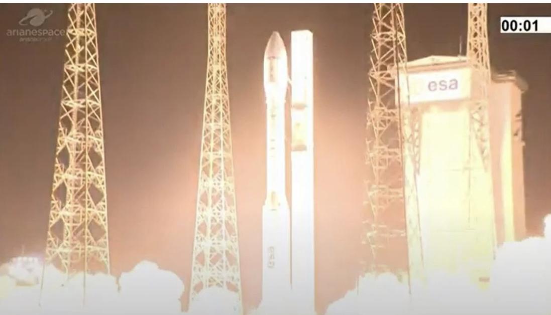 Неуспешно лансирање на ракета на Европската вселенска агенција