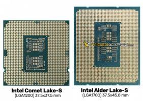 Се појави нова фотографија од Intel Alder Lake-S процесорот