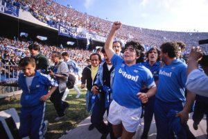 Стадионот во Неапол ќе го носи името на Диего Марадона