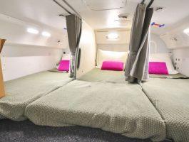 Тајните простории во авионите: Екипажот за време на долгите летови