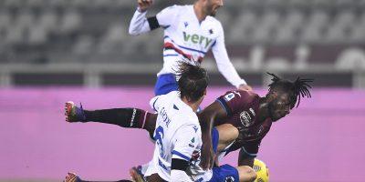 Торино спасуваше реми против Сампдорија во луд меч