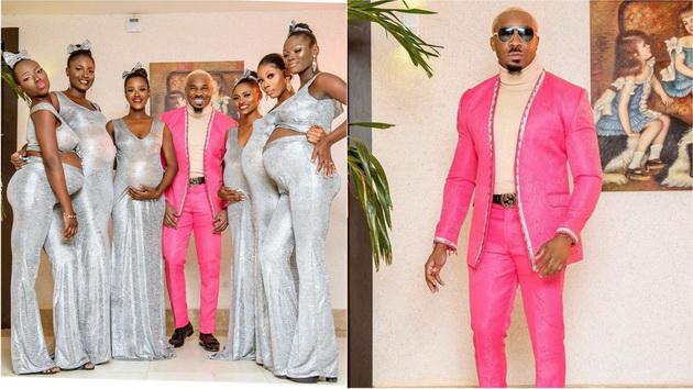 Убавиот Мики се појави на свадба со шест жени сите бремени од него