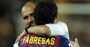Фабрегас осум години не зборува со Гвардиола