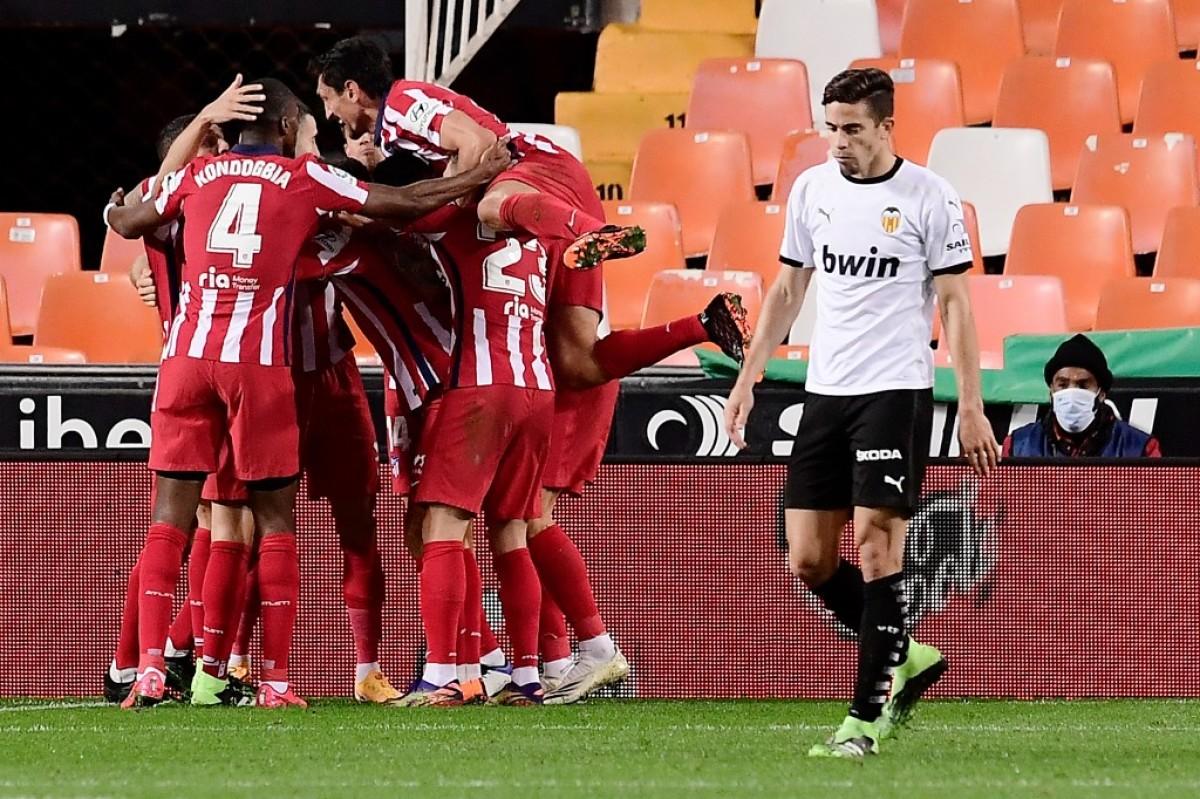 Шеста победа во низа – Атлетико ја освои Местаља
