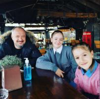 """""""Заедно со моите најдобри другарки"""", Ѓоко Танески се дружеше со ќерките"""