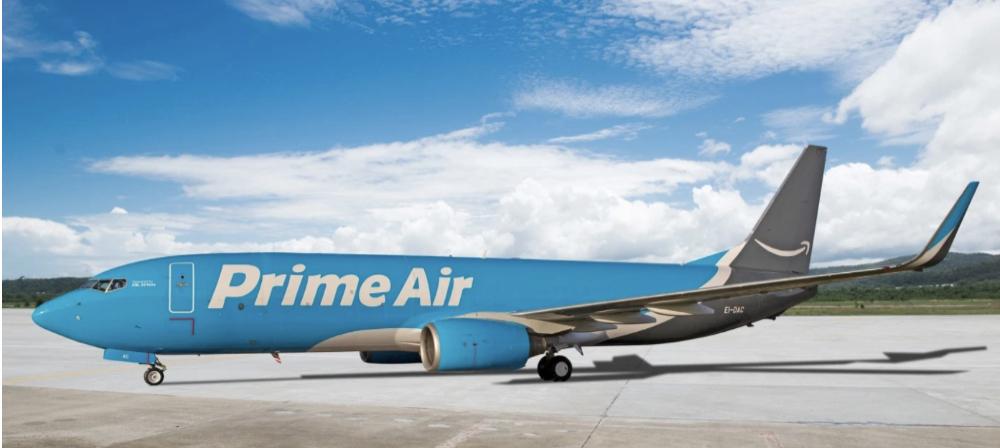 Amazon го отвори првиот европски центар за воздушна достава на пратки