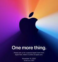 Apple на 10. ноември ќе ги претстави првите Mac лаптопи со сопствени процесори