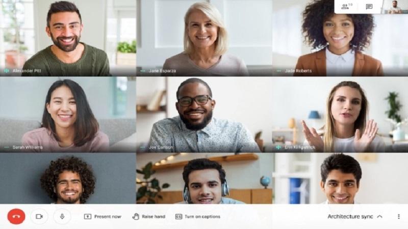 Google Meet уфрла прилагодени позадини за веб корисниците
