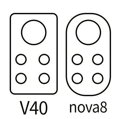 Huawei Nova 8 и Honor V40 може да имаат сличен дизајн на камерите
